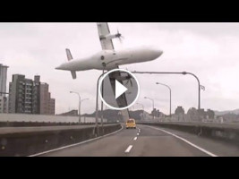 VIDEO:Tawain Plane Crash: Rescue and recovery after TransAsia plane crash